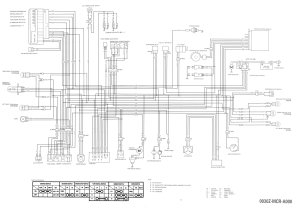 1995 Honda Shadow 1100 Wiring Diagram  Wiring Diagram and