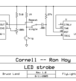 fly strobe circuit diagram of high brightness led strobe [ 1539 x 663 Pixel ]