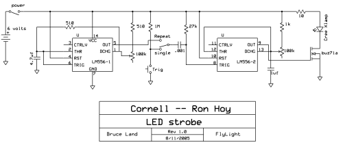small resolution of fly strobe circuit diagram of high brightness led strobe