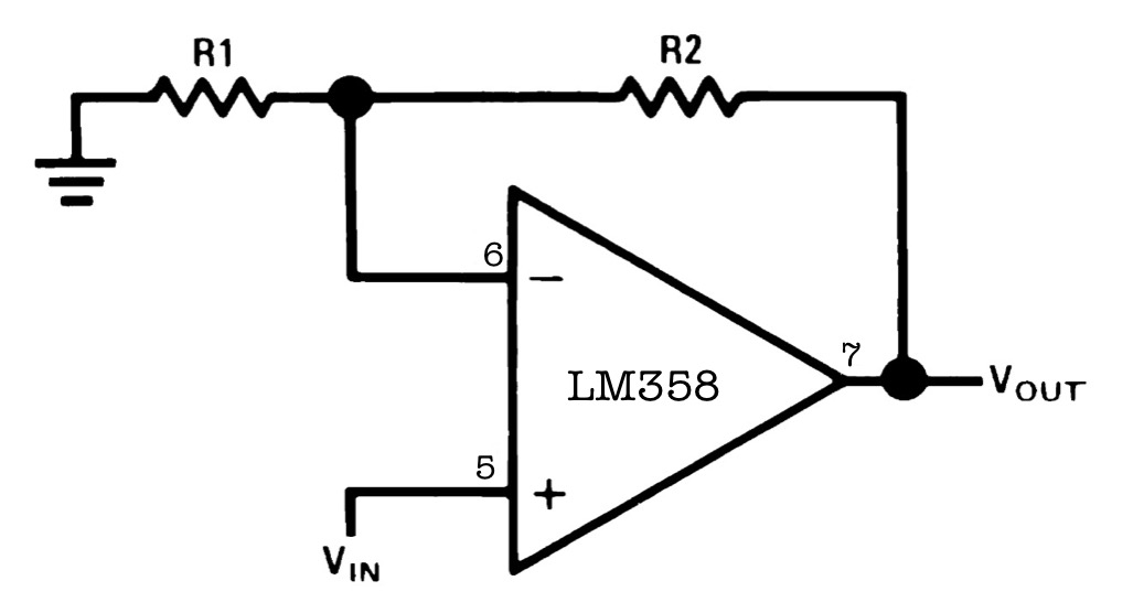 Block Diagram Inverting Amplifier