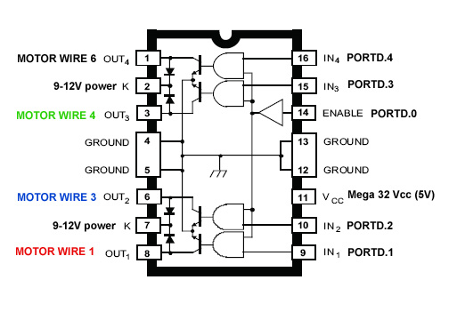 General 6 Wire Stepper Motor Wiring Diagram Astrosyn : 52
