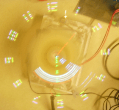 ECE476 Wireless Persistence of Vision