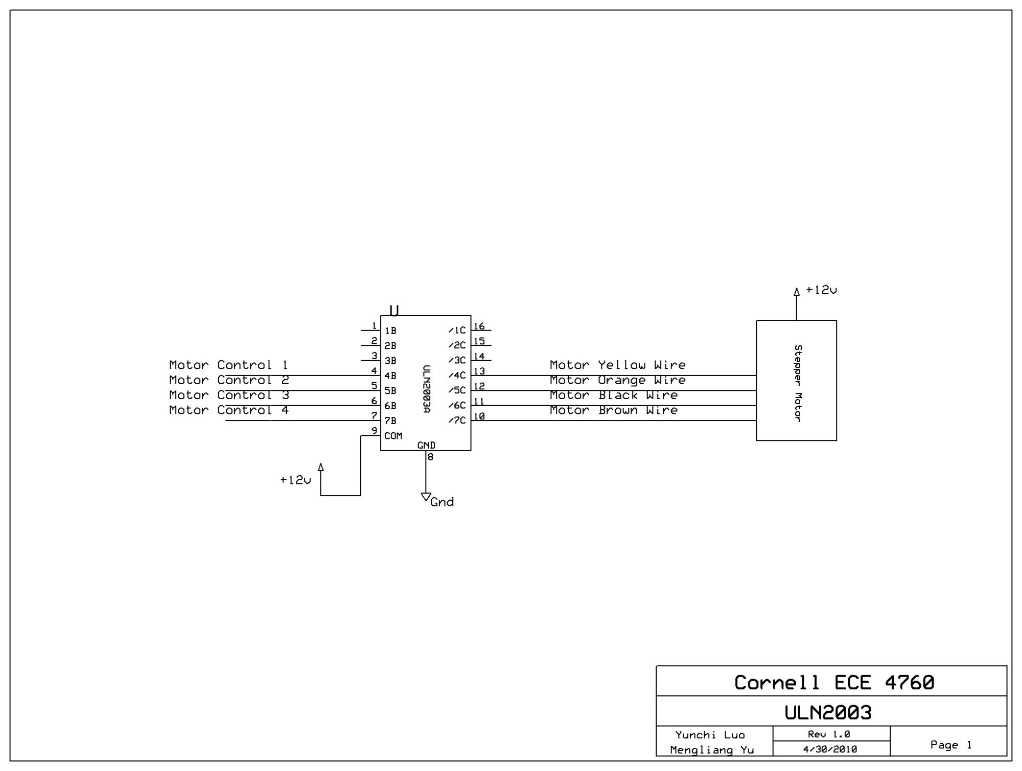 hight resolution of figure 9 uln2003 motor driving circuit