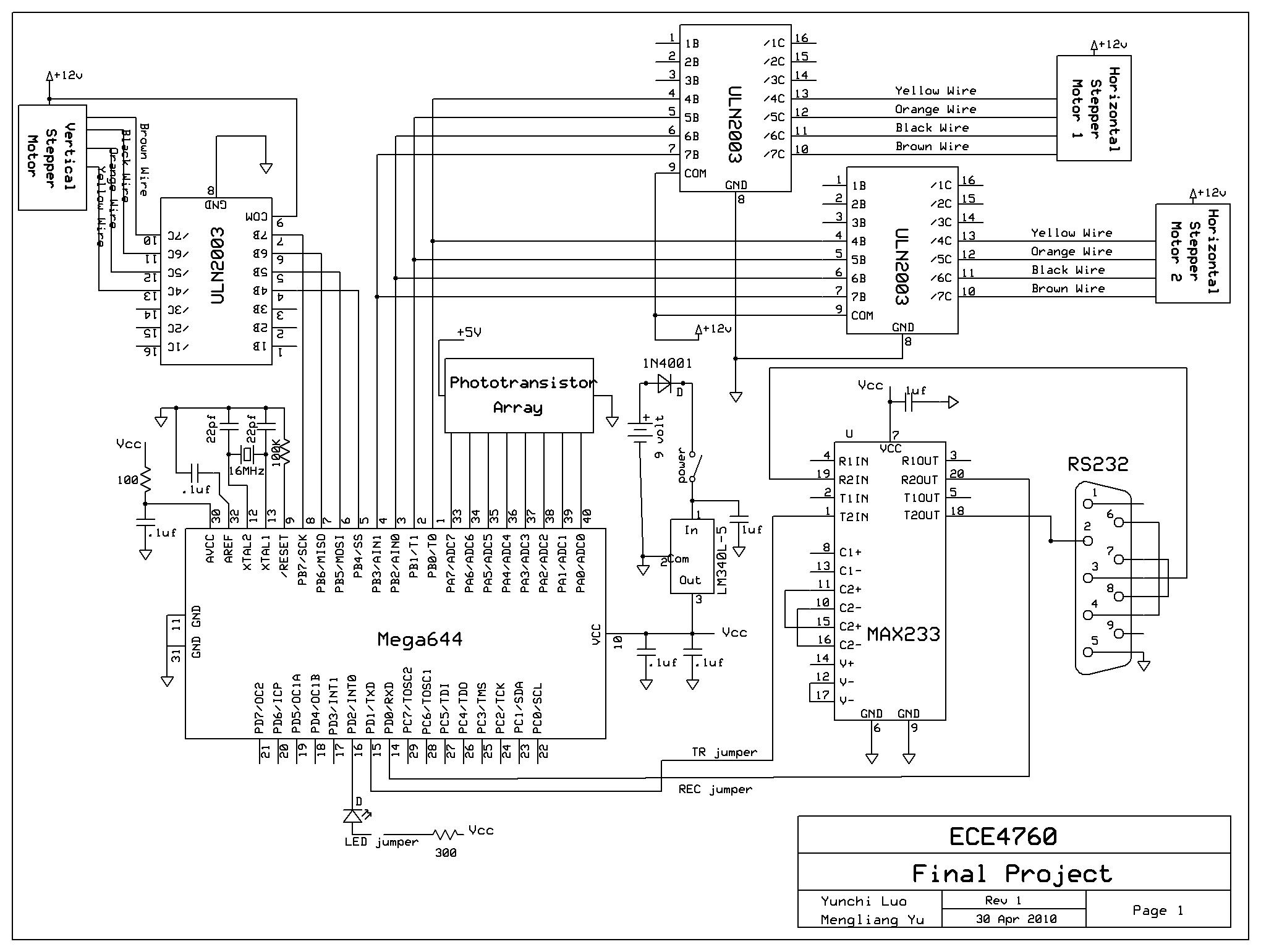 Figure 10 Full Schematic