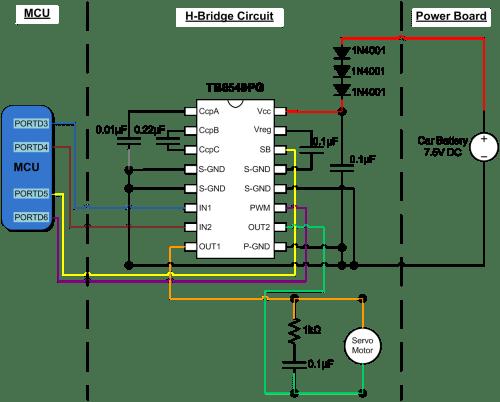 small resolution of h bridge circuit