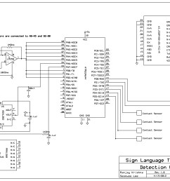 sign language translation hsync schematic [ 2040 x 1540 Pixel ]