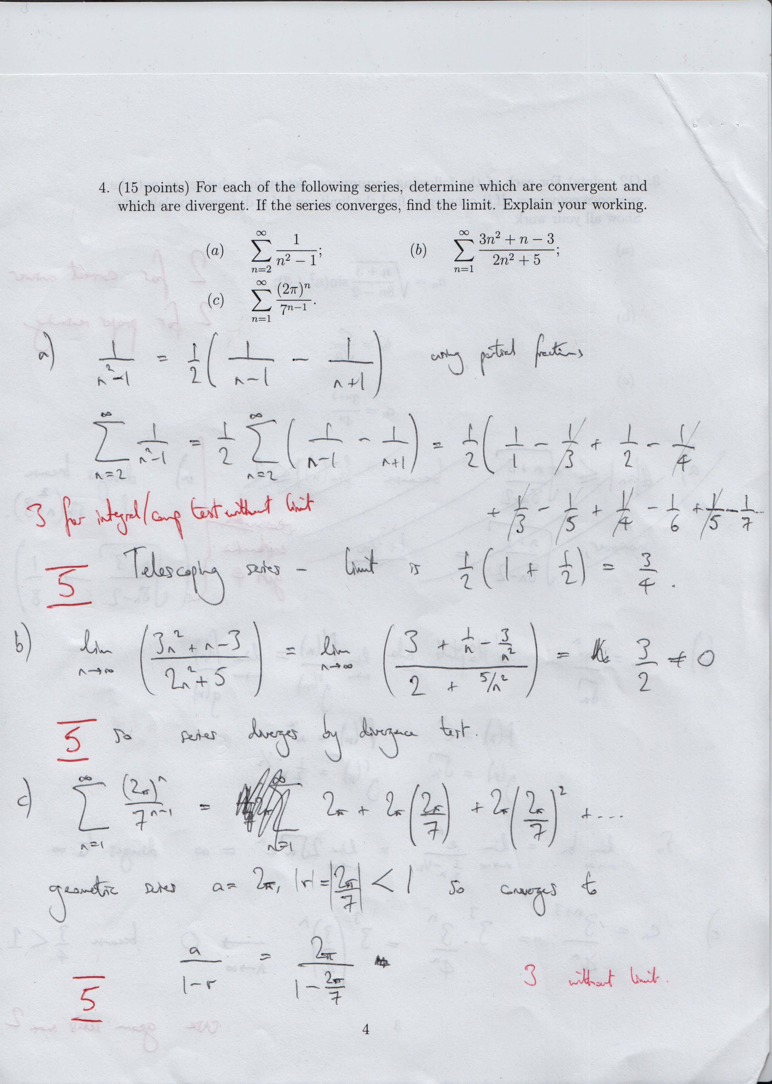 Math 132H Honors Calculus II