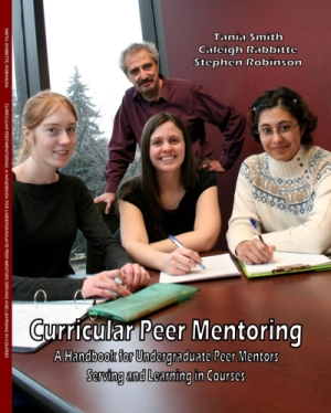 Curricular peer mentoring textbook cover