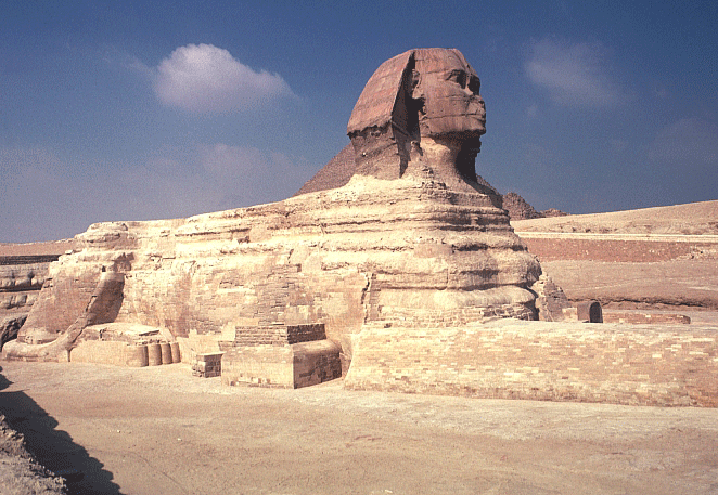 Brian Wildeman's Art History Lab Egypt The Great Sphinx