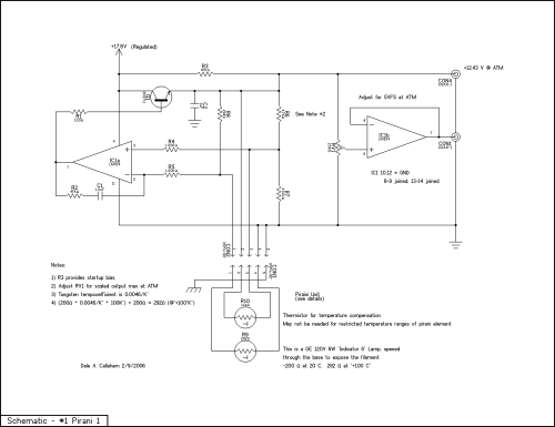 small resolution of schematic of the light bulb pirani circuit