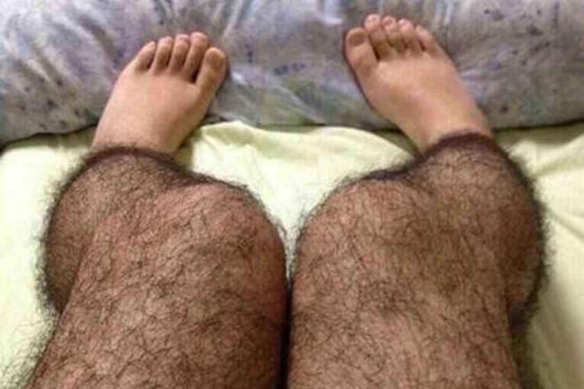 harige panty's