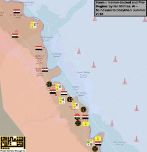 South Middle Deir Azzour Province- Iranian Militias