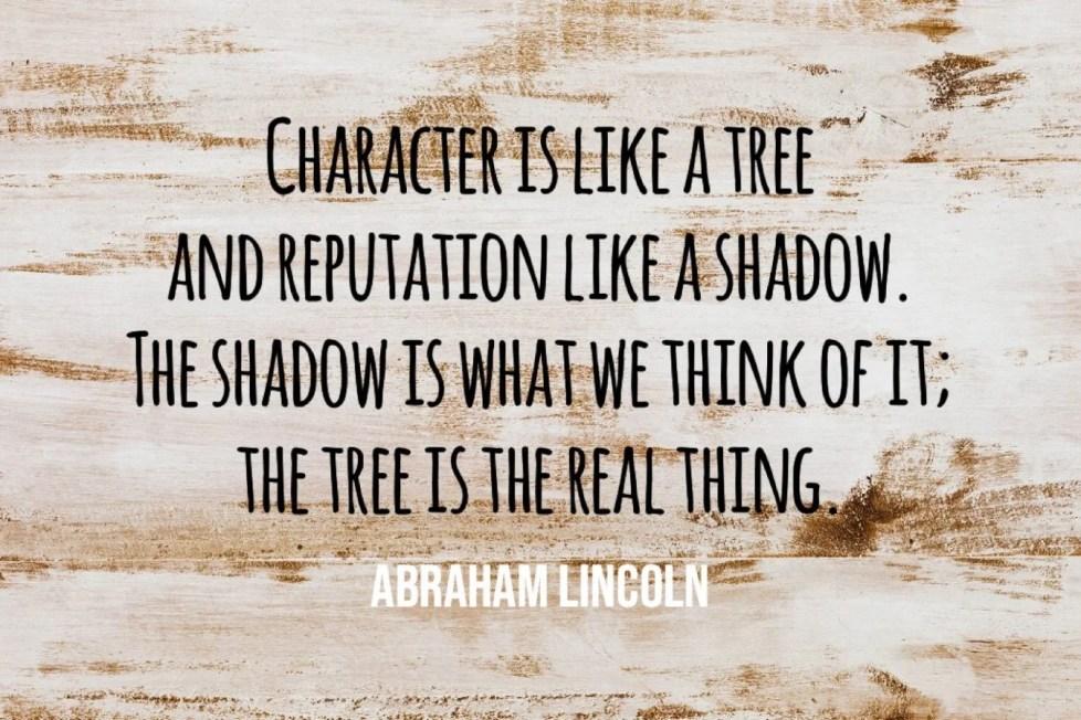 Character Is Like A Tree - People Development Magazine