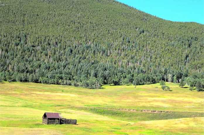 mountain valley house