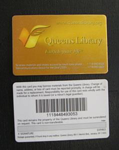 Everyday Usability Library Cards People Interact