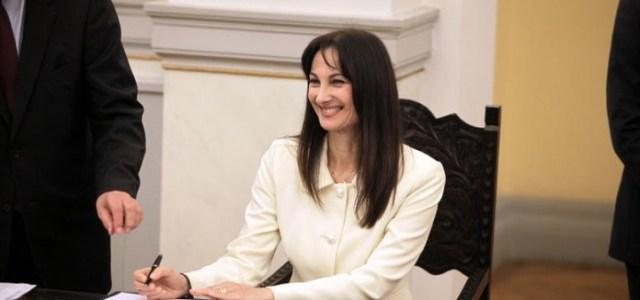 Επίσκεψη ενημέρωσης στελεχών των Sciacca στην Αν. Υπουργό Τουρισμού, Έλενα Κουντουρά