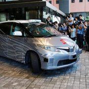 Ταξί χωρίς οδηγό στους δρόμους του Τόκυο