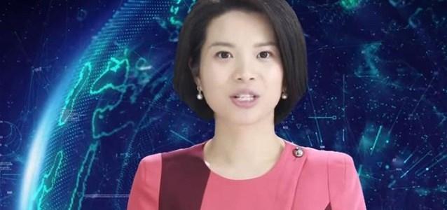 Ρομπότ παρουσιάστρια ειδήσεων από το κινεζικό πρακτορείο Xinhua