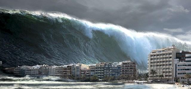 Το μεγαλύτερο τσουνάμι στην ιστορία με τα κύματα να φτάνουν στα 250 μέτρα