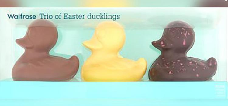 Κατάστημα αποσύρει παπάκια σοκολάτας γιατί θεωρήθηκαν ως προϊόντα ρατσισμού