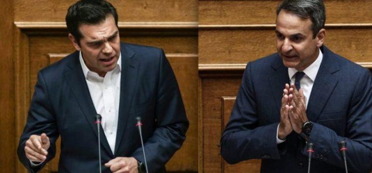 Αλέξης Τσίπρας VS Κυριάκος Μητσοτάκης: Οι τεχνικές πειθούς που τους απέμειναν