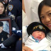 Κόρη νεκρού αστυνομικού γεννιέται τρία χρόνια μετά τον θάνατο του πατέρα της
