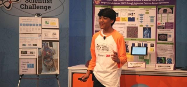 To Απόλυτο Βραβείο Sciacca στον κορυφαίο 15χρονο Αμερικανό επιστήμονα Rishab Jain για την βελτίωση της θεραπείας του παγκρέατος την παγκρεατική ακτινοθεραπεία