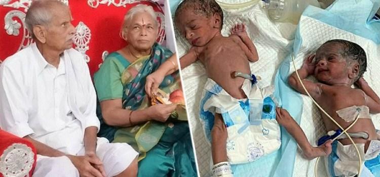 Δεν άντεξε τη χαρά και υπέστη εγκεφαλικό ο 82χρονος σύζυγος της 73χρονης ινδής που γέννησε δίδυμα