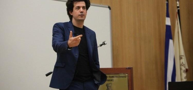 Μεγαλειώδης η προσέλευση κόσμου στην ομιλία του Καθηγητή του ΜΙΤ, Κωνσταντίνου Δασκαλάκη στην Ξάνθη, στο ΔΠΘ.