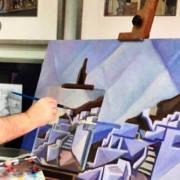 Έκθεση Ζωγραφικής του Γιάννη Μίχα: ''Αξιώθηκαν τα πλοία μου… Για το ουρανόσκαλο να ταξιδεύουν ''