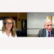 H Ρόμπερτς παίρνει συνέντευξη από τον Φάουτσι – Διάσημοι δανείζουν τα social media τους στους ειδικούς του κορωνοϊού