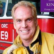 O Covid-19 νίκησε τον πυροσβέστη Ken Caley, 59 ετών, από το San Clemente της Καλιφόρνια