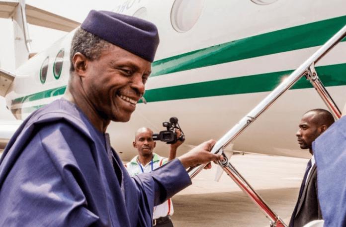Vice-President-Yemi-Osinbajo-visits-Pa-Fasoranti- in-Akure