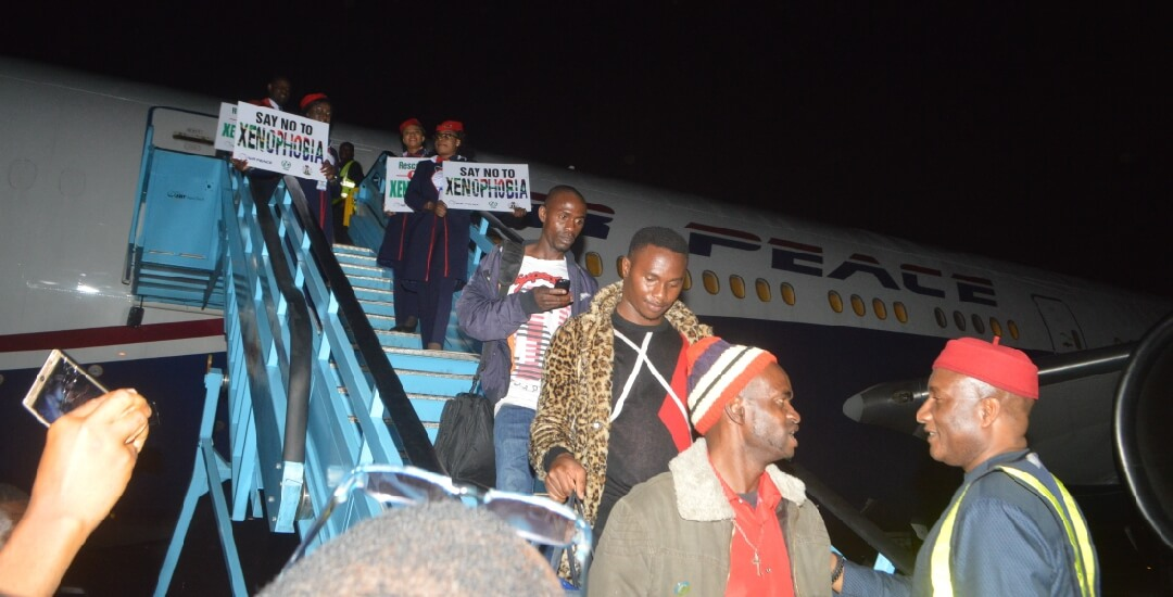 After-seven-hours'-delay,-187-Nigerians-land-in-Lagos