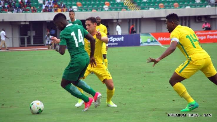 2020-Olympic-football-qualifiers,-Nigeria,-S/Africa-clash