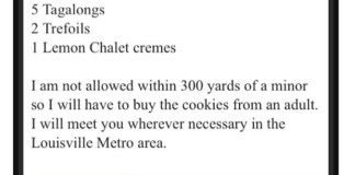 Craigslist Girl Scout Cookies