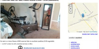 Craigslist Excercise Bike
