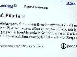 ex boyfriend piñata
