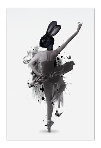 Prima Ballerina Art Card |Art doesn't have to be big to make a big impression. Our art cards are about the size of postcards, but they'll brighten up any room with their eye-catching designs. With a selection of unique art work printed on high quality paper, these are a versatile type of art for all sorts of occasions.