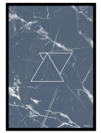 """Blue Marble poster 
