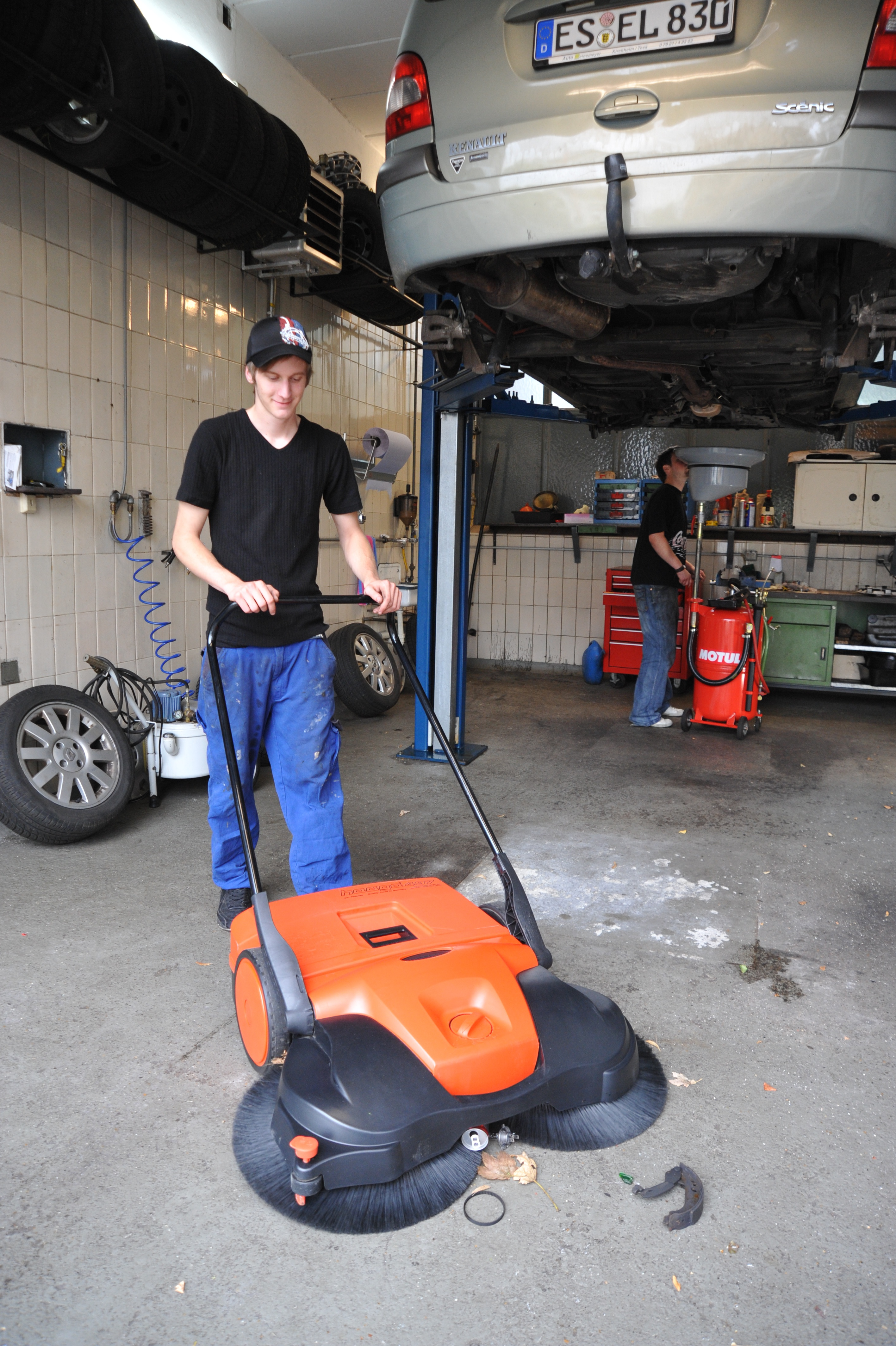 New Haaga Sweeper Product Line  People Powered Machines