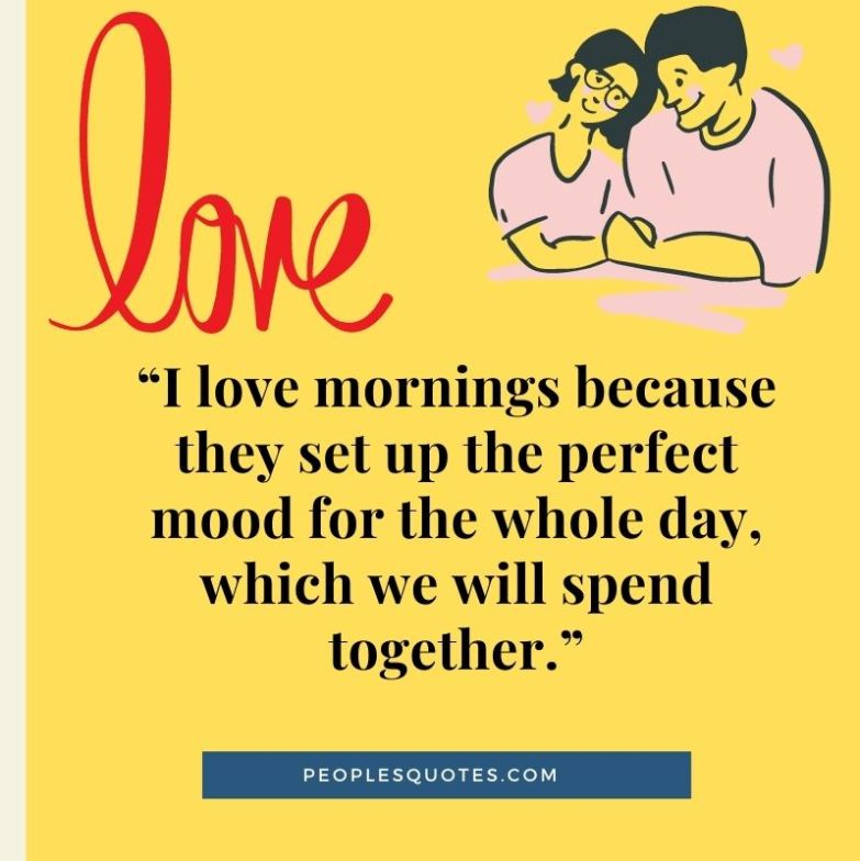 Good Morning Quotes For Her with images and pictures