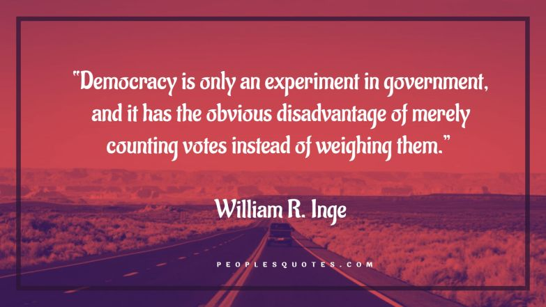 Quotes about Democracy and Independence