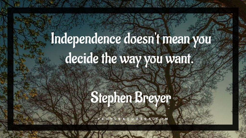 Quotes on freedom and independence