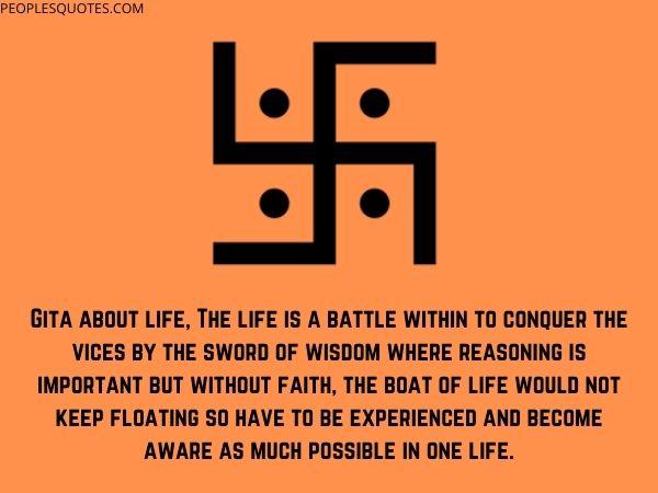 Bhagwat Gita Quotes on Life (Hinduism)