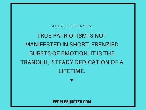 true patriotism quotes