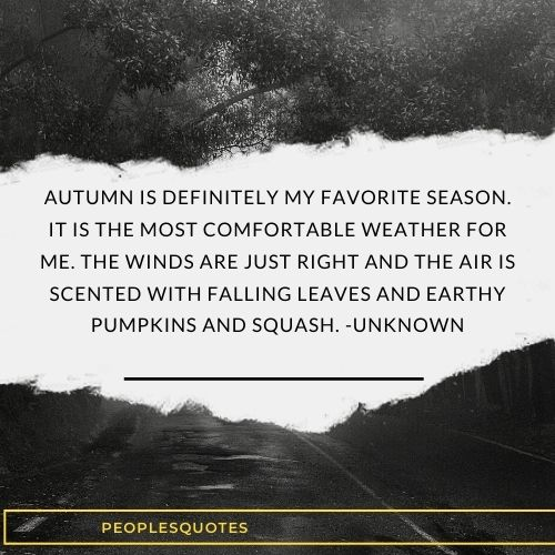 fall season quotes with images