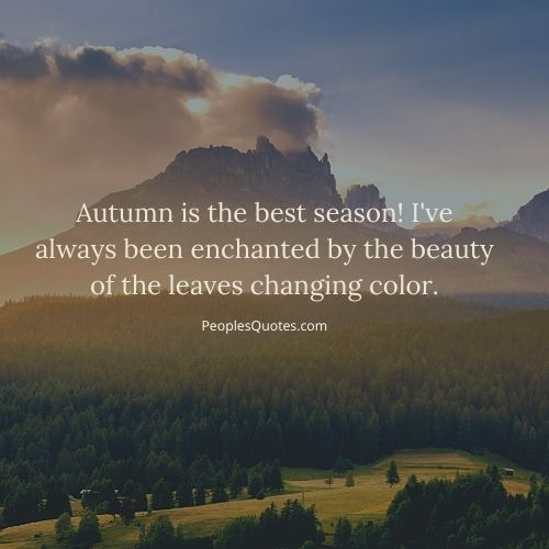 best fall season quotes