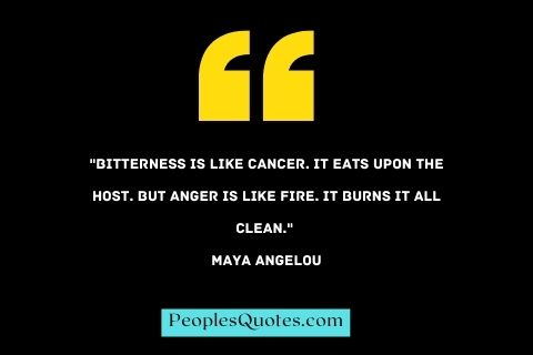 Anger and Bitterness Quotes to help you Overcome Hate