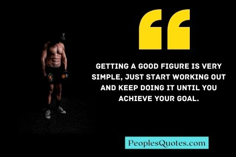 Gym and Home Workout Motivational Quotes